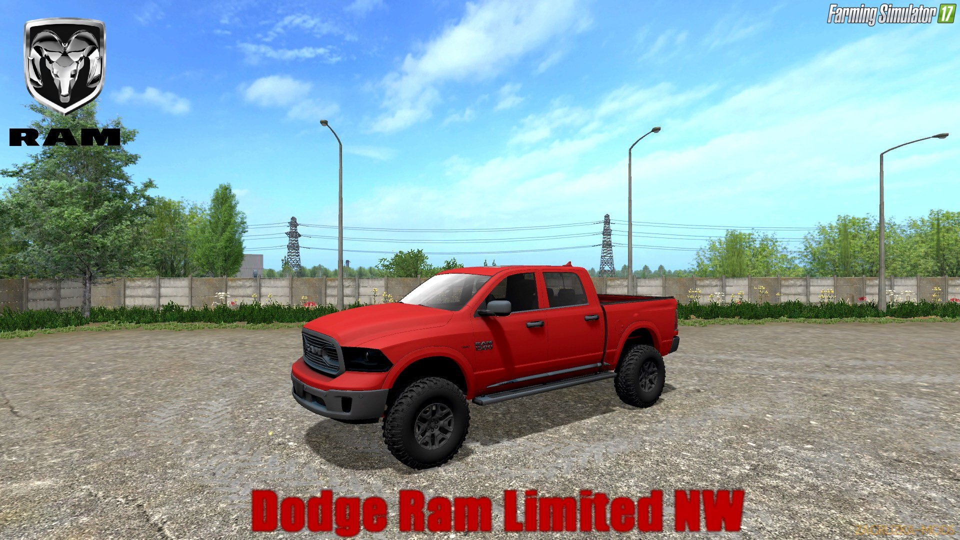 Dodge Ram Limited v1.0 for FS 17