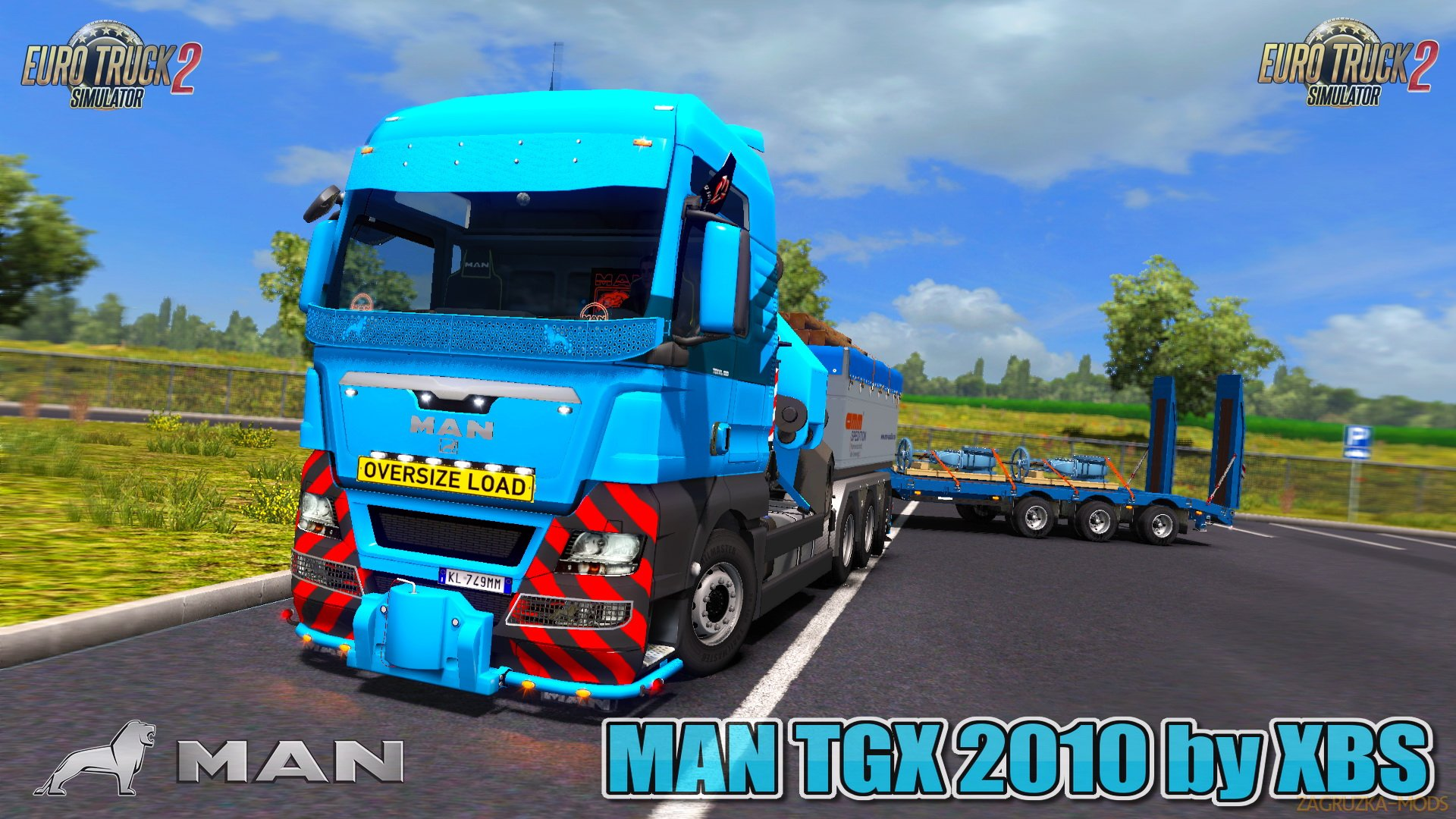 MAN TGX 2010 v4.6 by XBS (1.28.x) for ETS 2