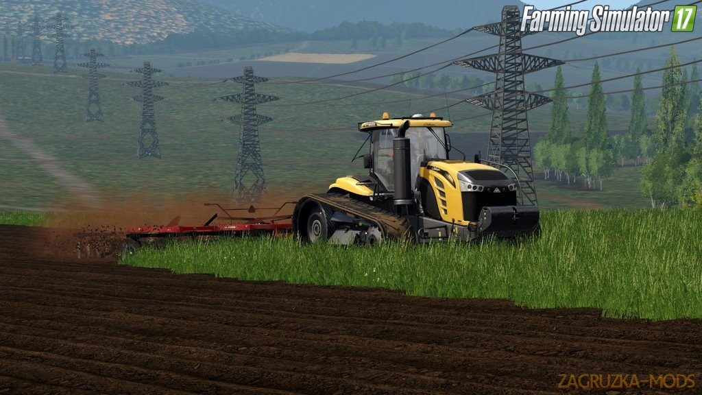 Tractor Challenger MT800E Series for Fs17
