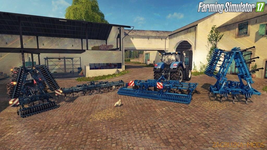 Cultivator Liborto 6m for Fs17