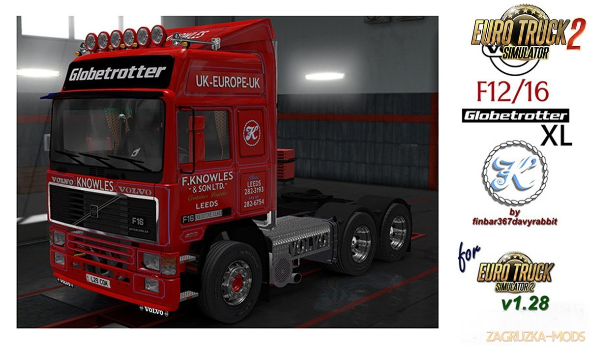 "F Knowles & Son LTD Skin for ""Volvo F Series"""