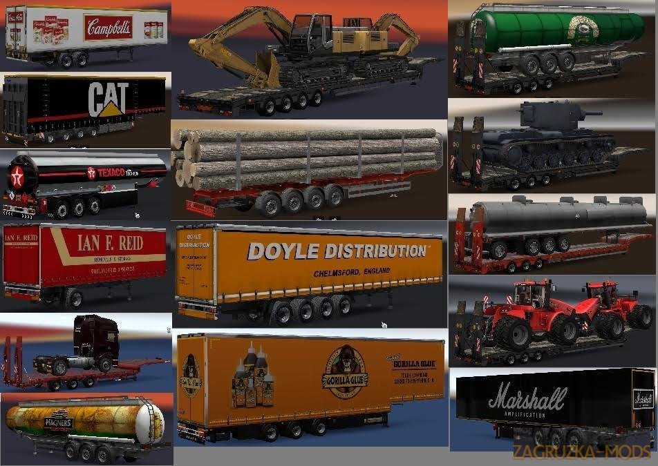Chris45 Trailers Pack v 9.07 [1.28.x]