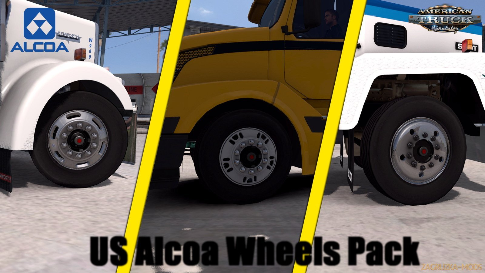 US Alcoa Wheels Pack v1.3 (1.28.x) for ATS