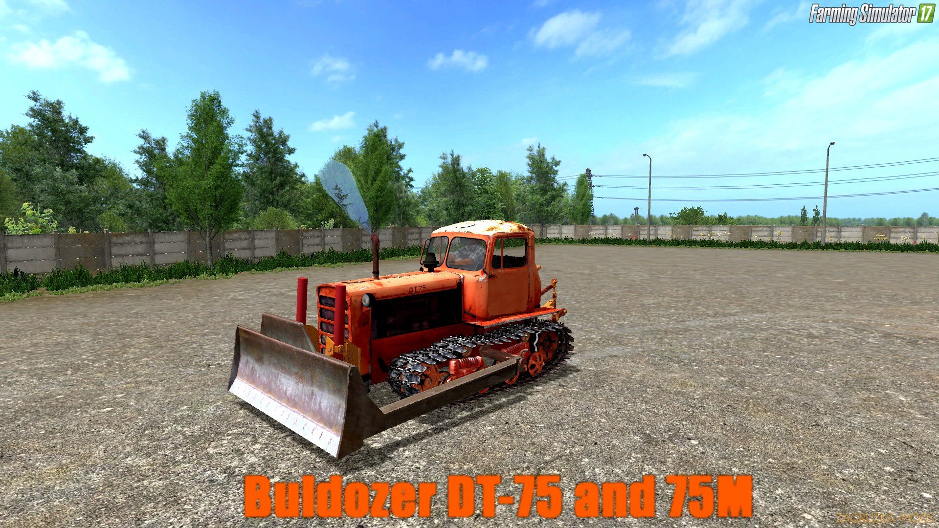 DT-75 and 75M v1.0 for FS 17