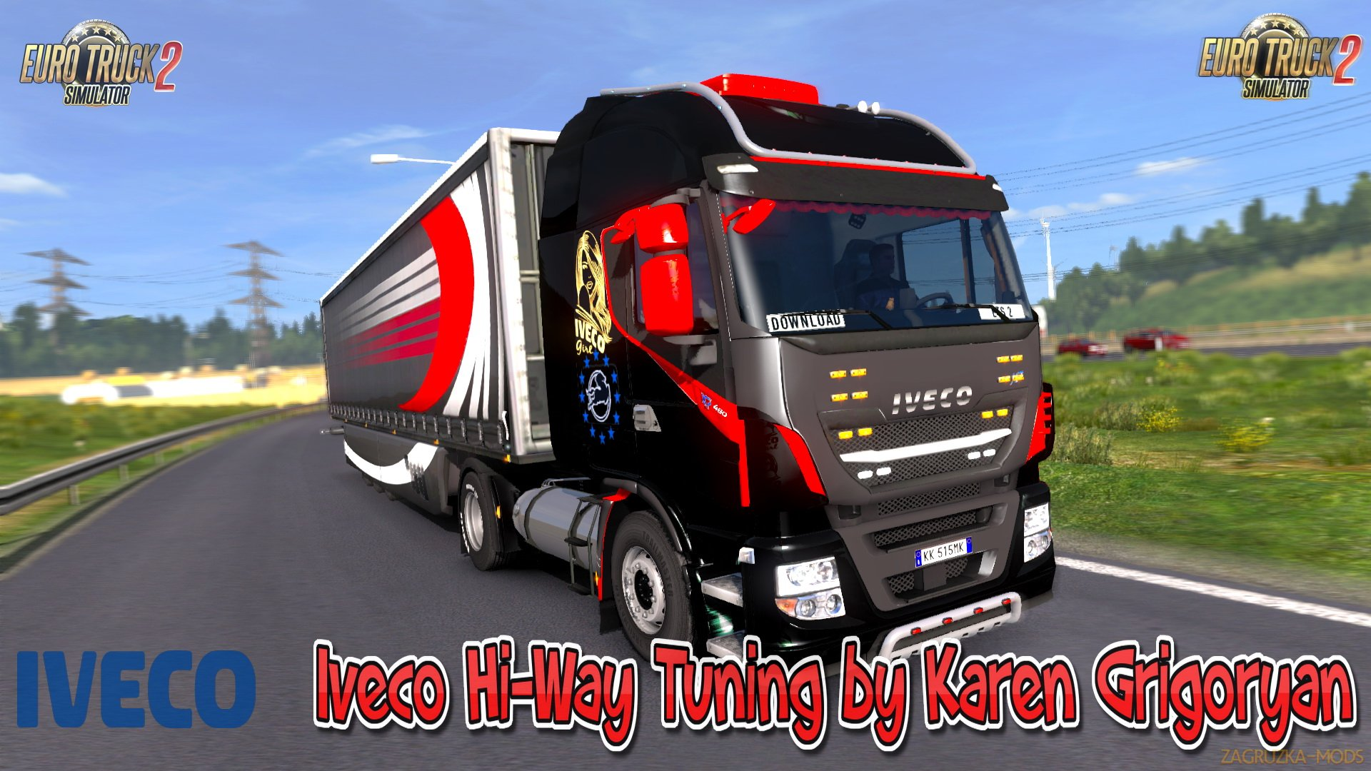Iveco Hi-Way Tuning v1.4 by Karen Grigoryan (1.28.x) for ETS 2