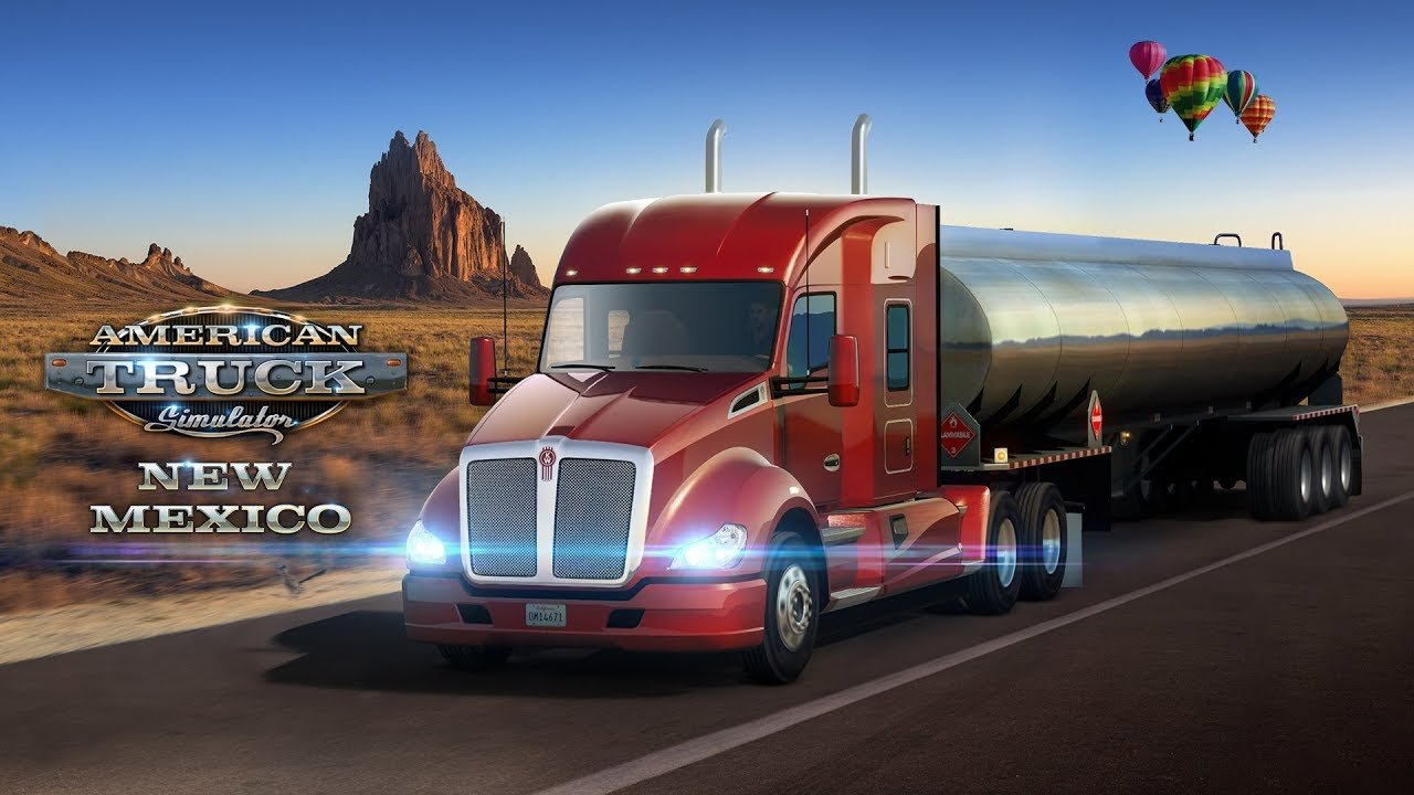 New Mexico DLC: Promo Trailer for American Truck Simulator