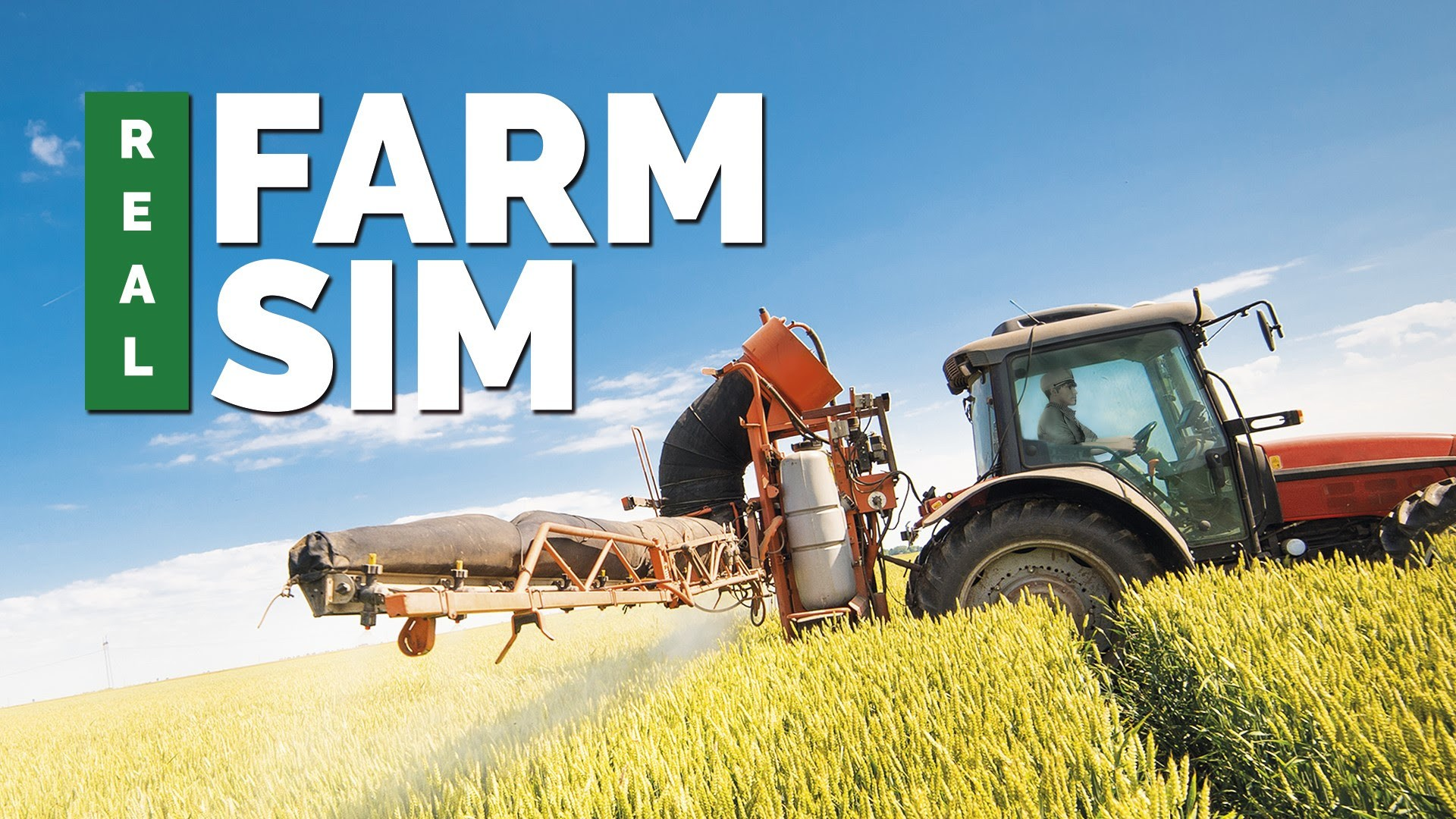 Real Farm Sim: Trailer + Gameplay videos