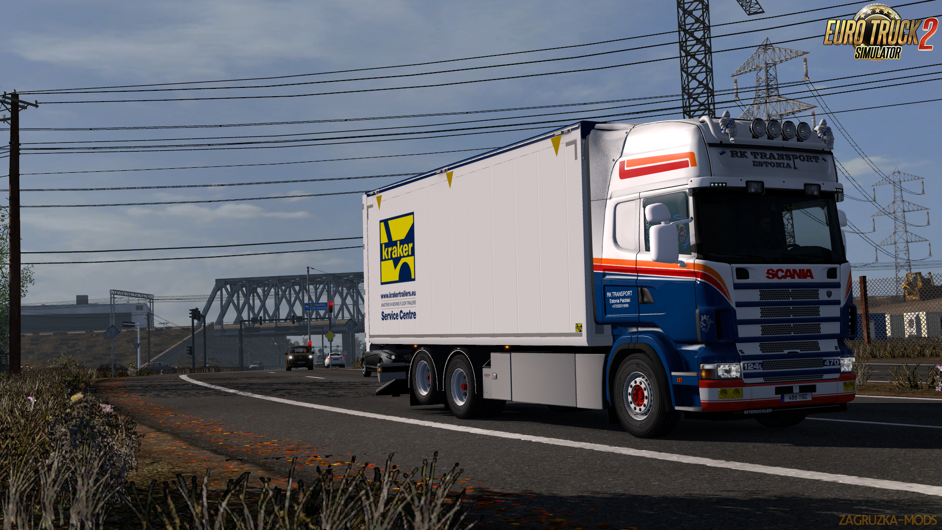 Tandem addon for RJL Scania RS and R4 v1.9 by Kast