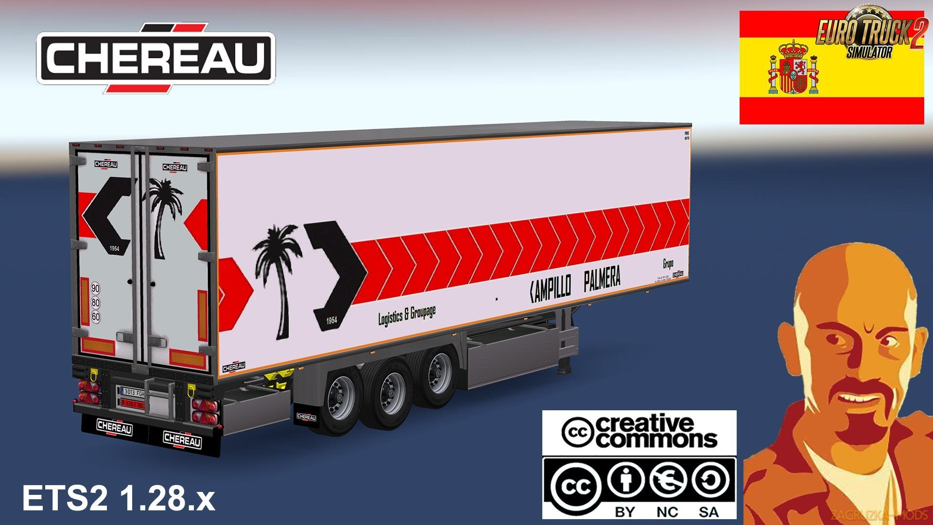 Chereau Spanish Agencies Trailer [1.28.x]