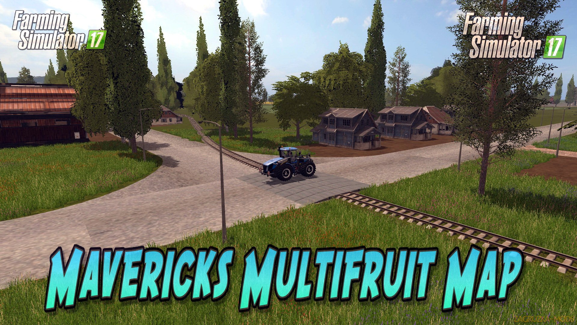 Mavericks Multifruit Map v2.0 for FS 17