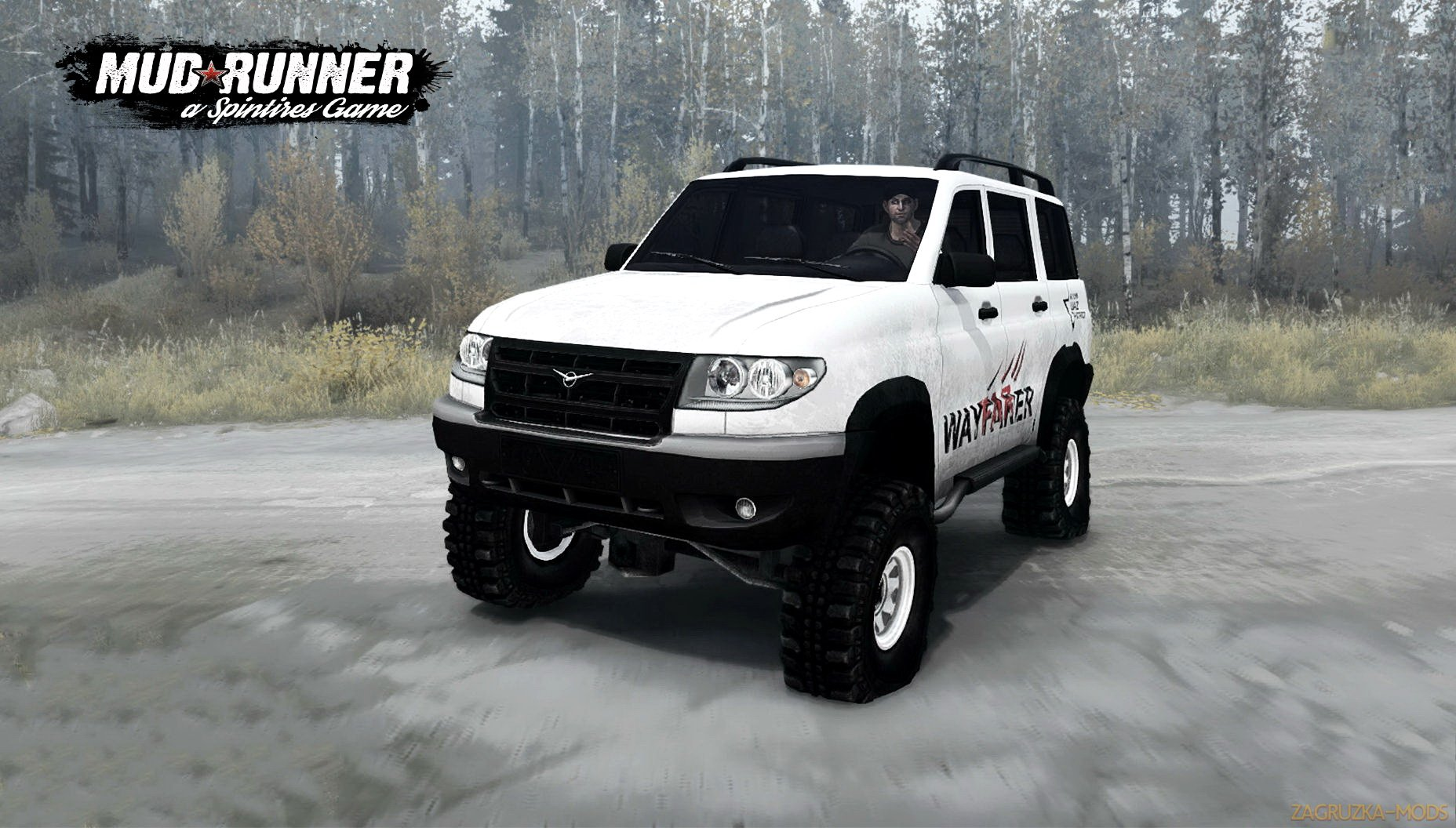 UAZ 3163 Patriot Wayfarer v1.0 (v26.10.17) for SpinTires: MudRunner