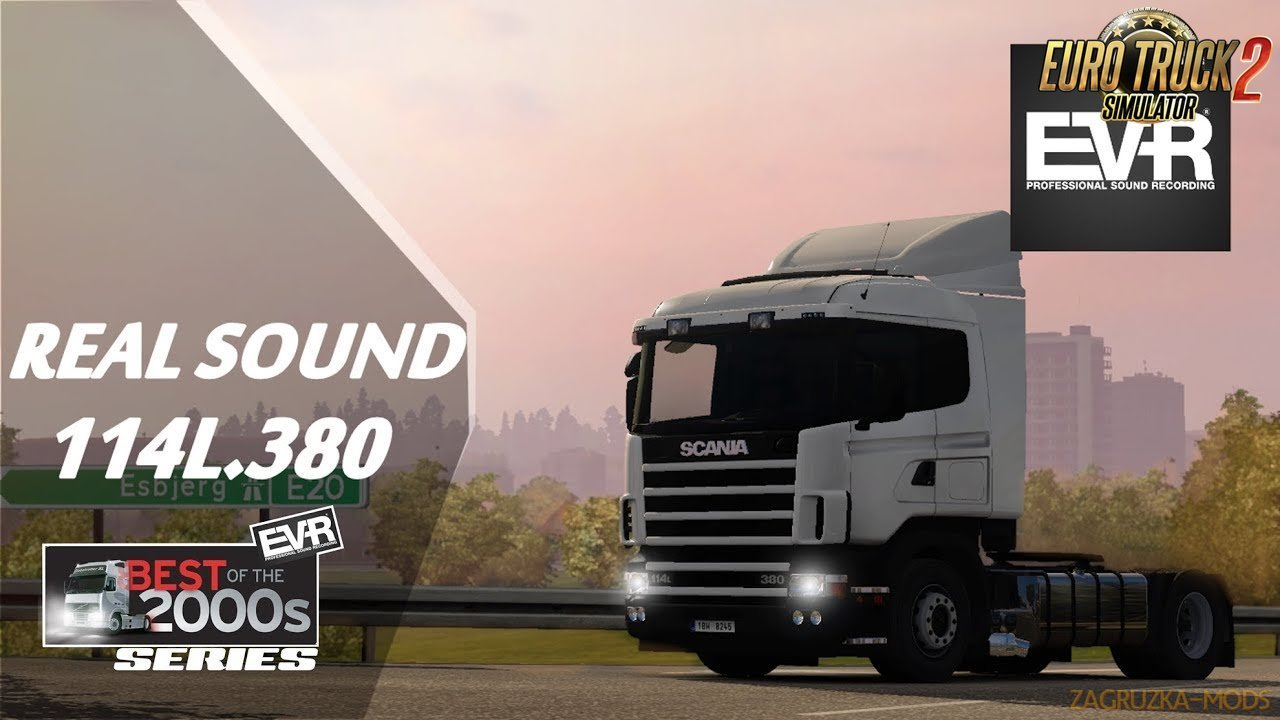 Real sound Scania 114L.380 v1.4