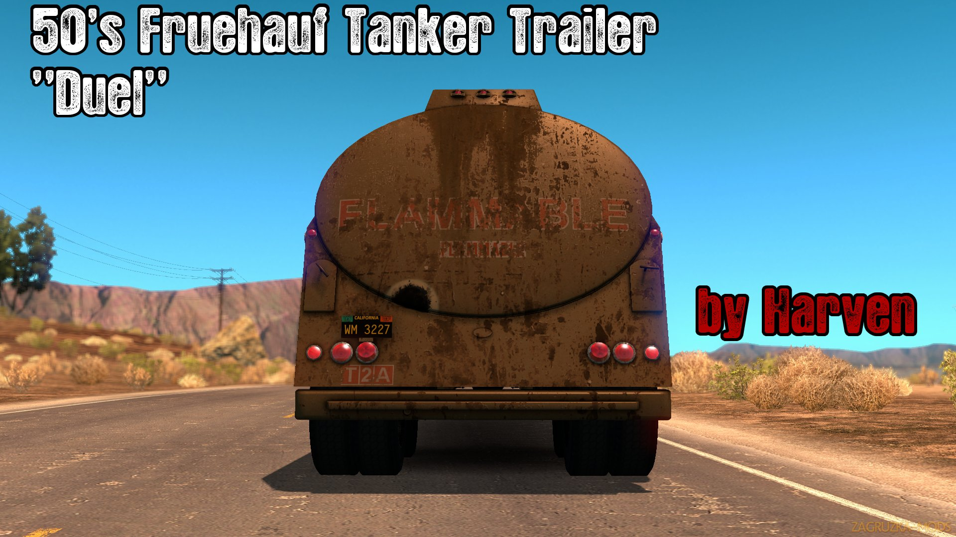 Trailer Tanker Duel v1.2 by Harven (1.29.x) for ATS