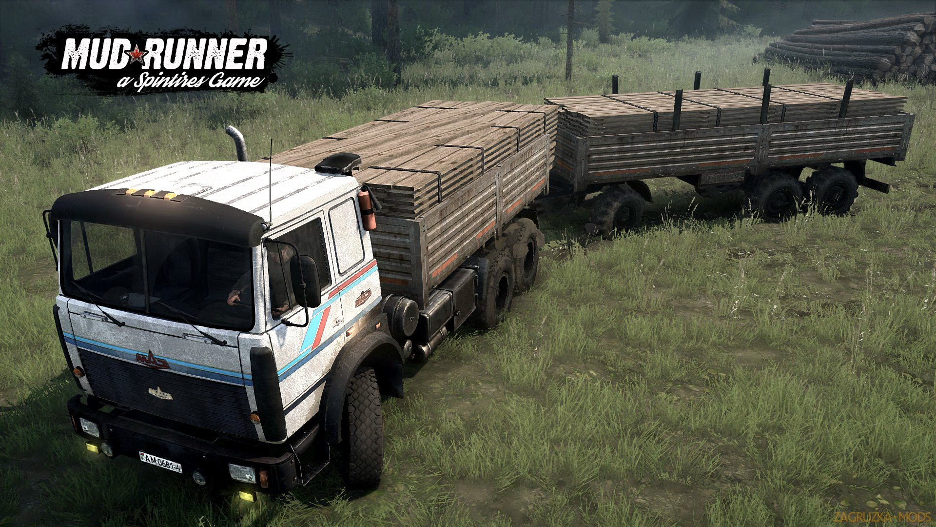 MAZ-6317 6X6 v3.0 (v06.03.18) for SpinTires: MudRunner