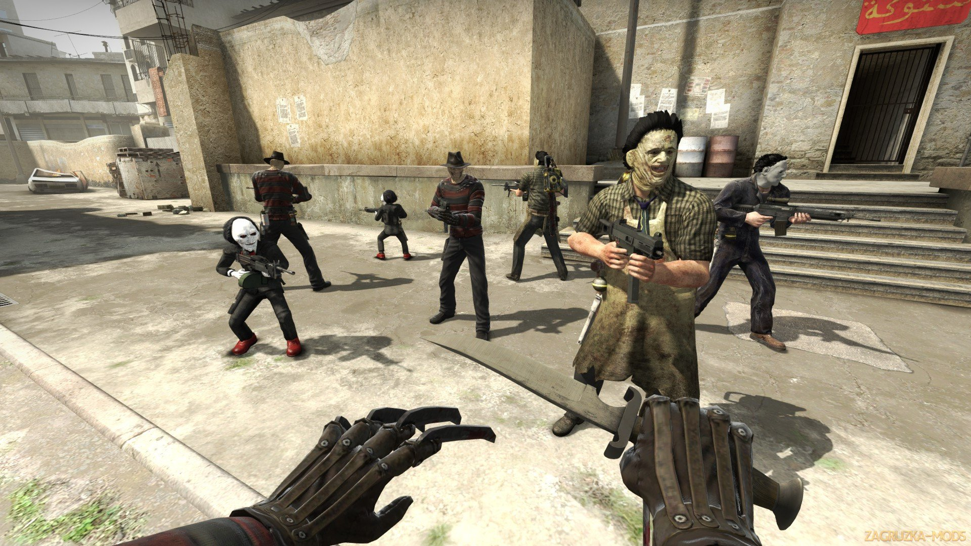 Horror pack Skins Players v1.0 for CS:GO