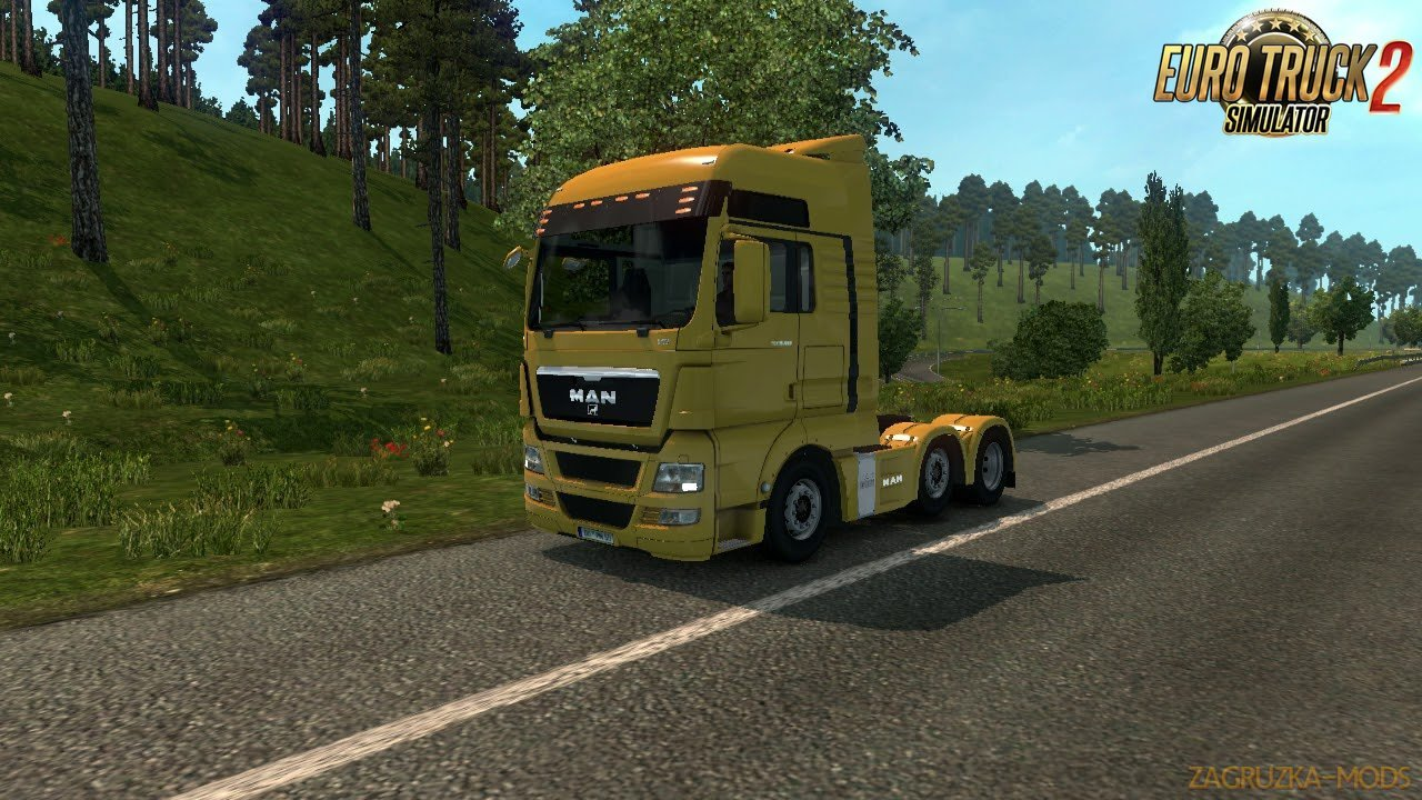 MAN TGX V8 Sound v1.5 by Kameer