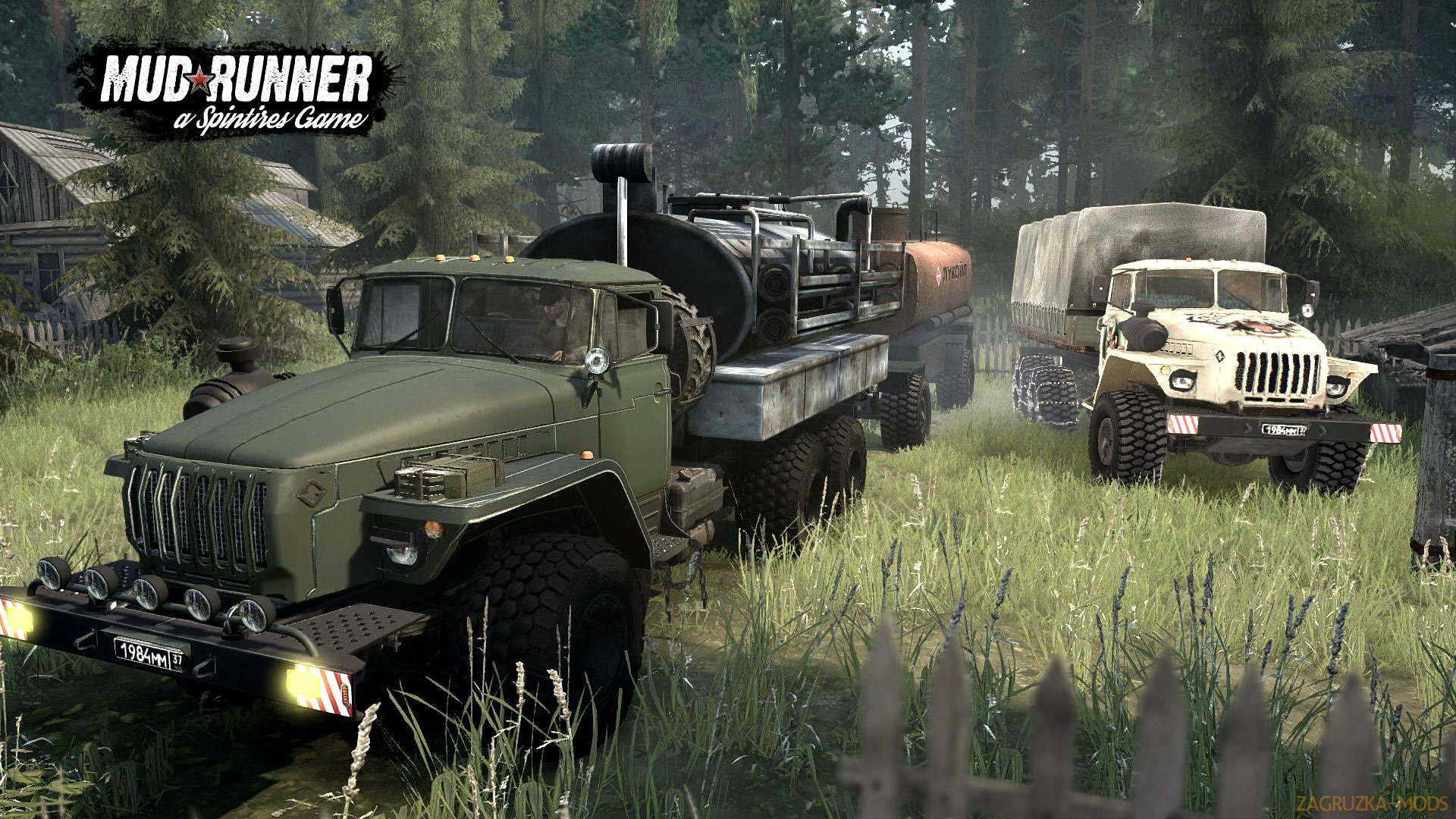 Ural-4320 v1.0 (v26.10.17) for Spin Tires: MudRunner