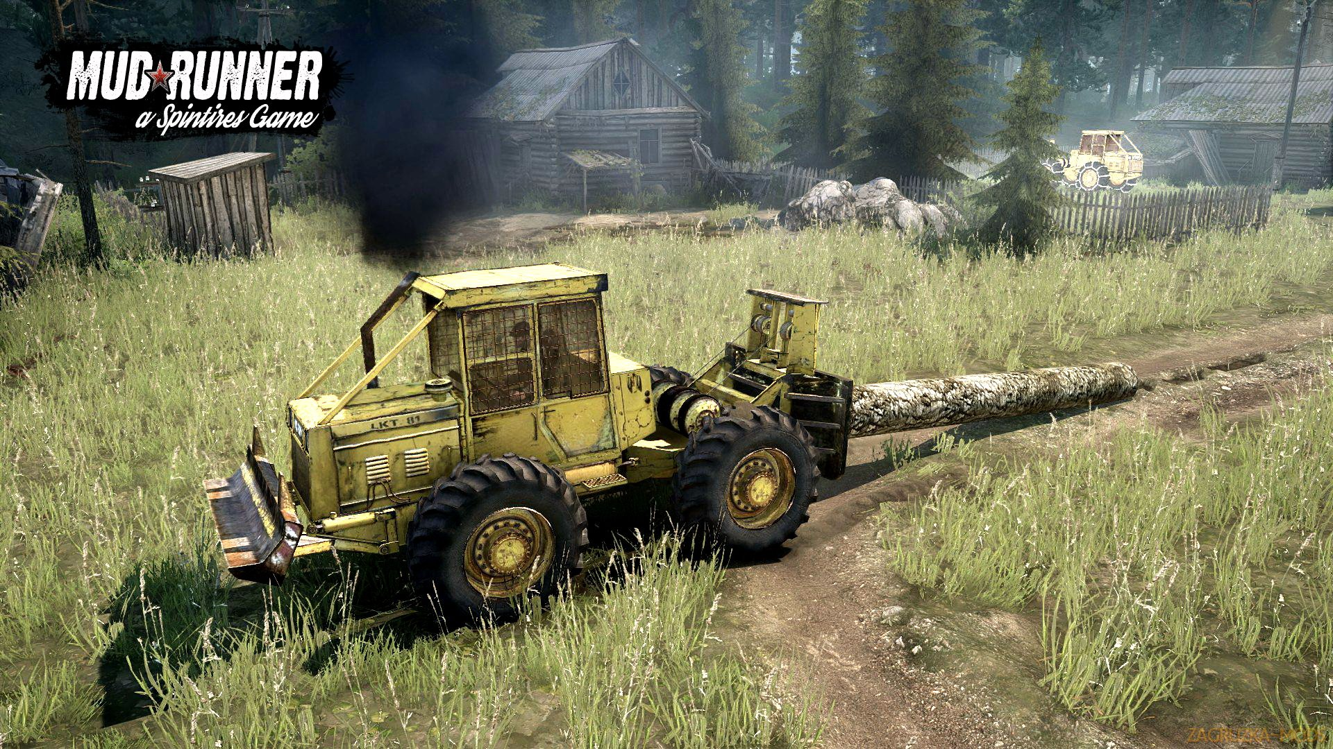 Tractor LKT-81 v1.0 (Updated) (v26.10.17) for SpinTires: MudRunner