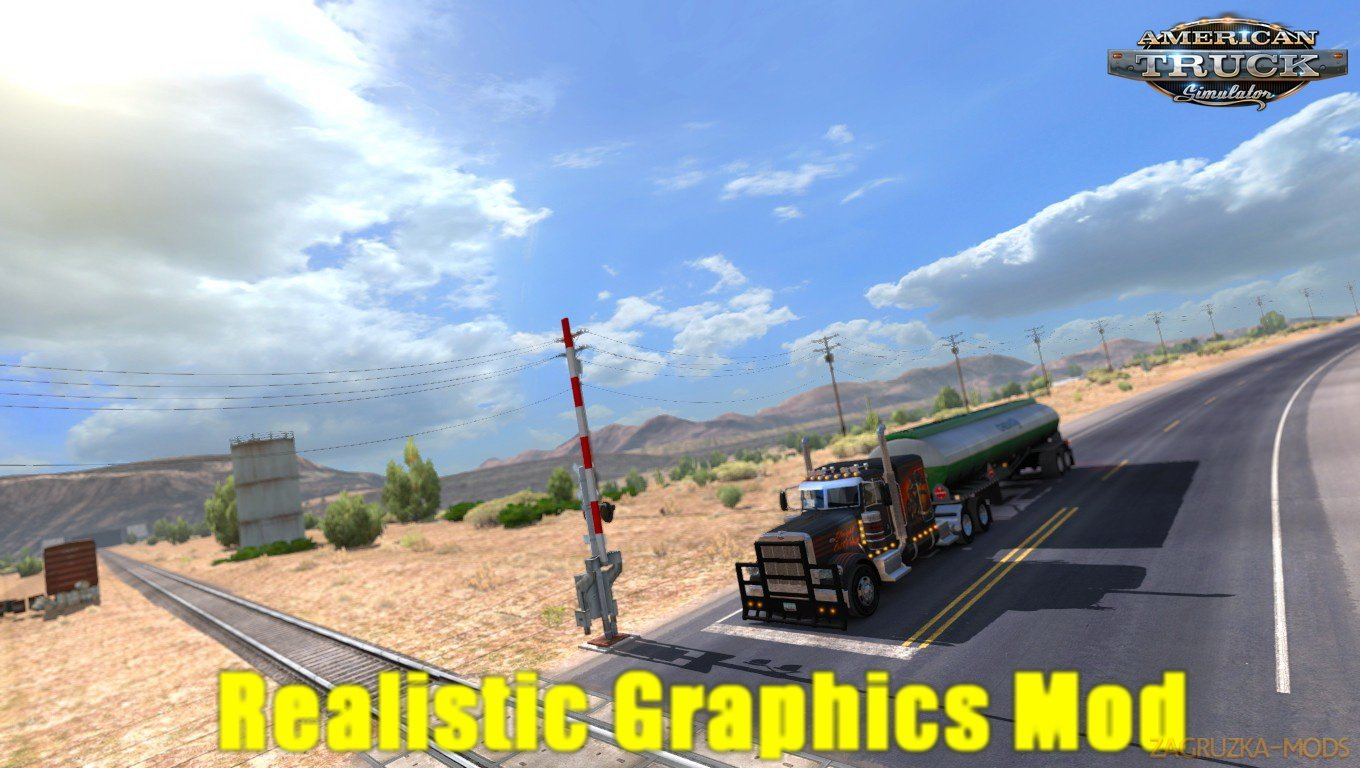 Realistic Graphics Mod v2.0.2 by Frkn64 (1.30.x) for ATS