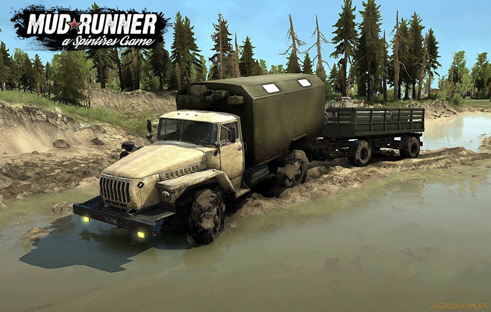 Ural-43206 v1.0 (v26.10.17) for SpinTires: MudRunner