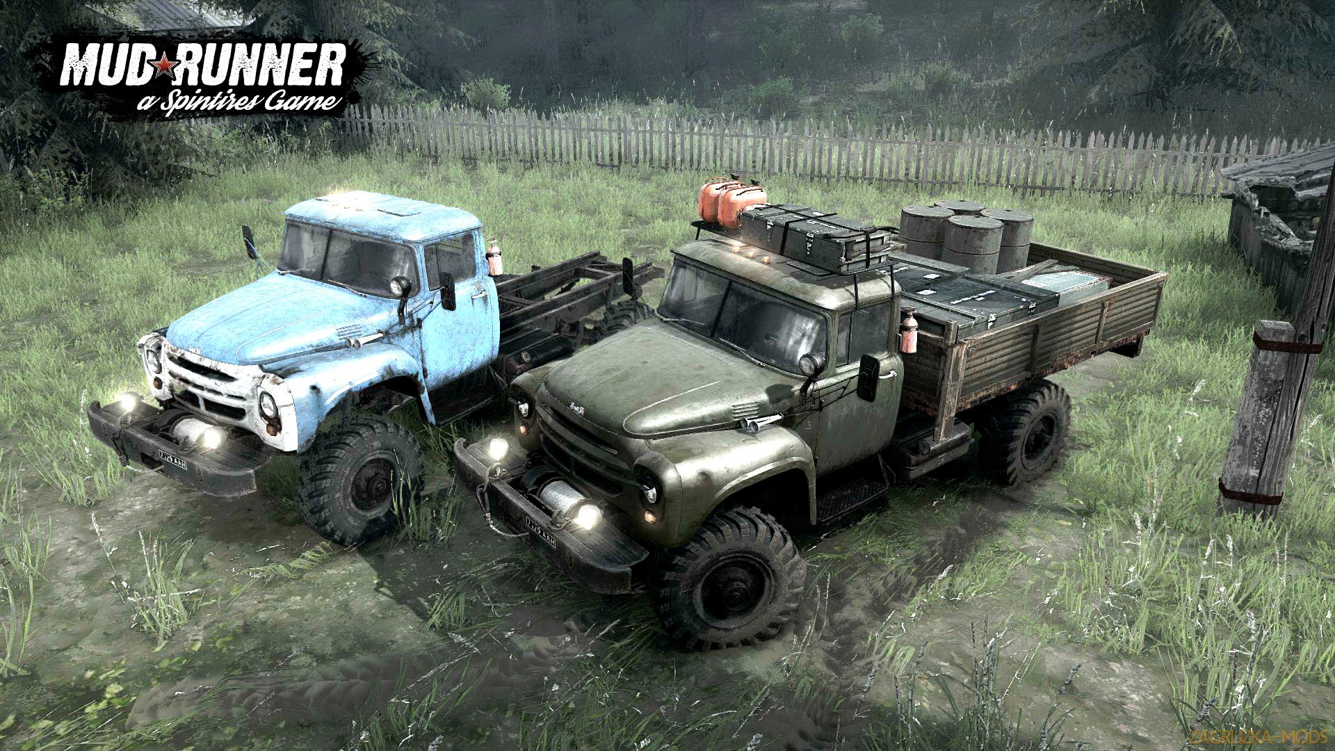 Type Z-66 v1.0 (Updated) (v26.10.17) for Spin Tires: MudRunner
