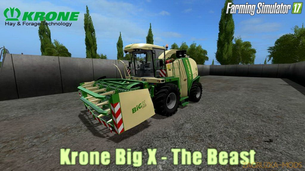 Combine Krone Big X - The Beast v1.0 for FS 17