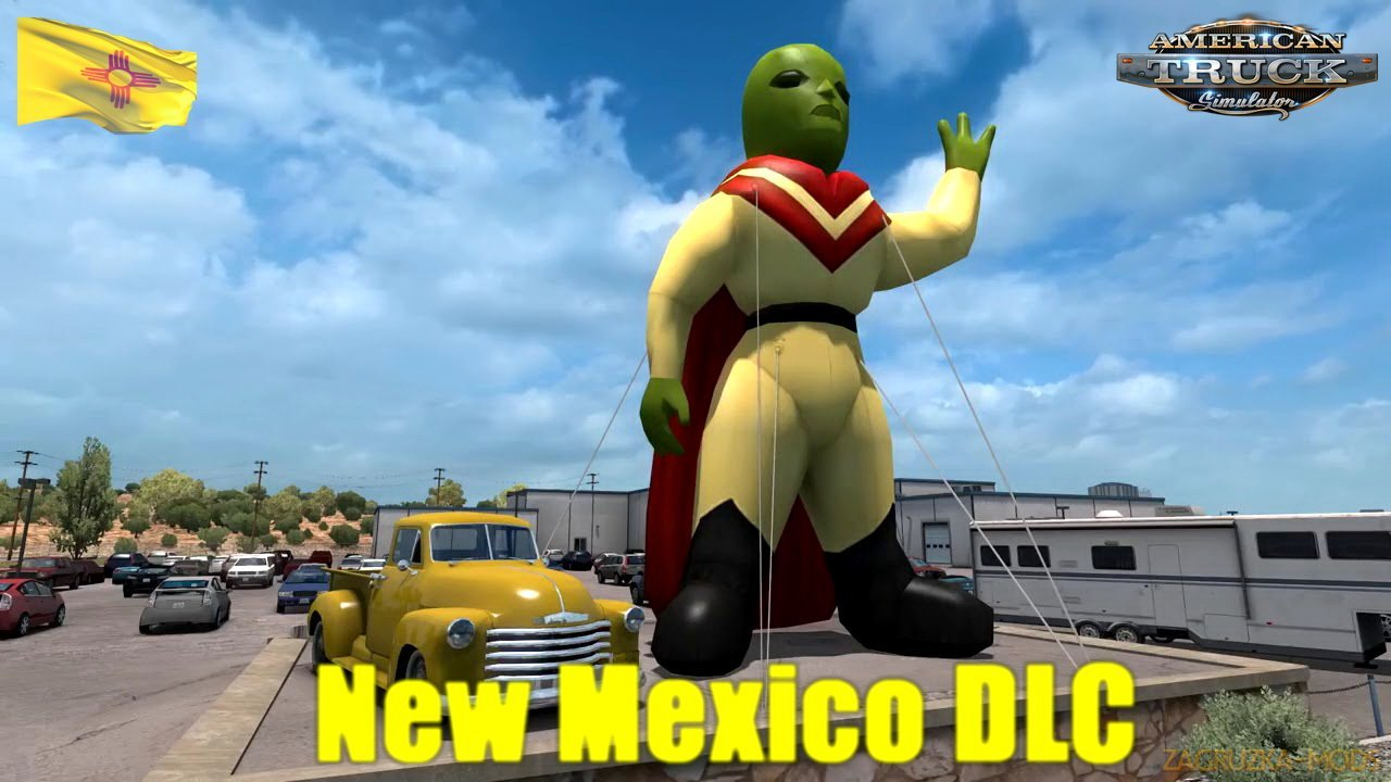 New Mexico DLC was released for American Truck Simulator