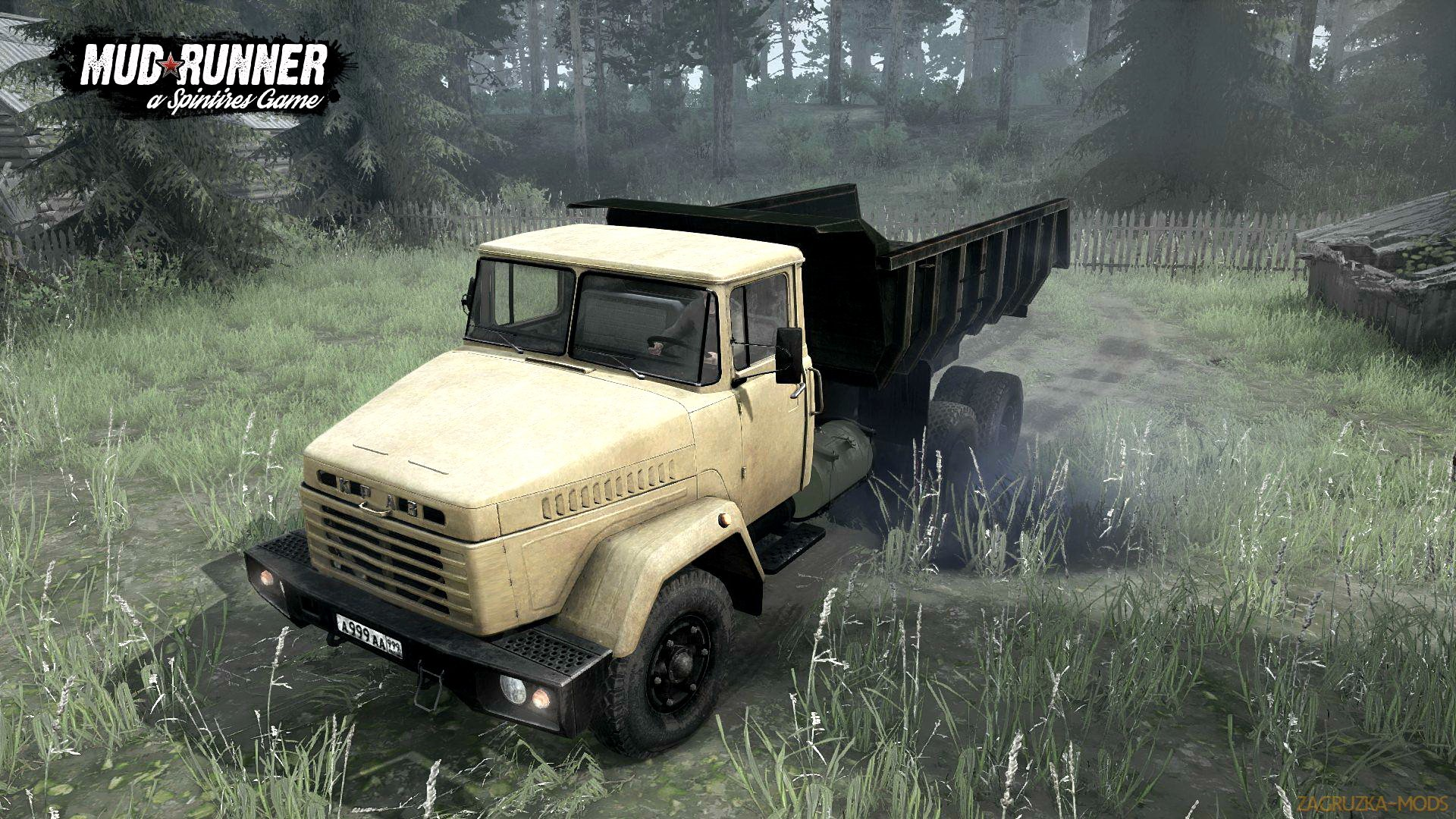 KrAZ 6510 v1.0 (v07.11.17) for Spin Tires: MudRunner