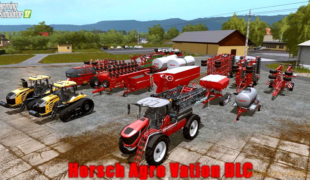 Horsch Agro Vation DLC v1.0 for FS 17