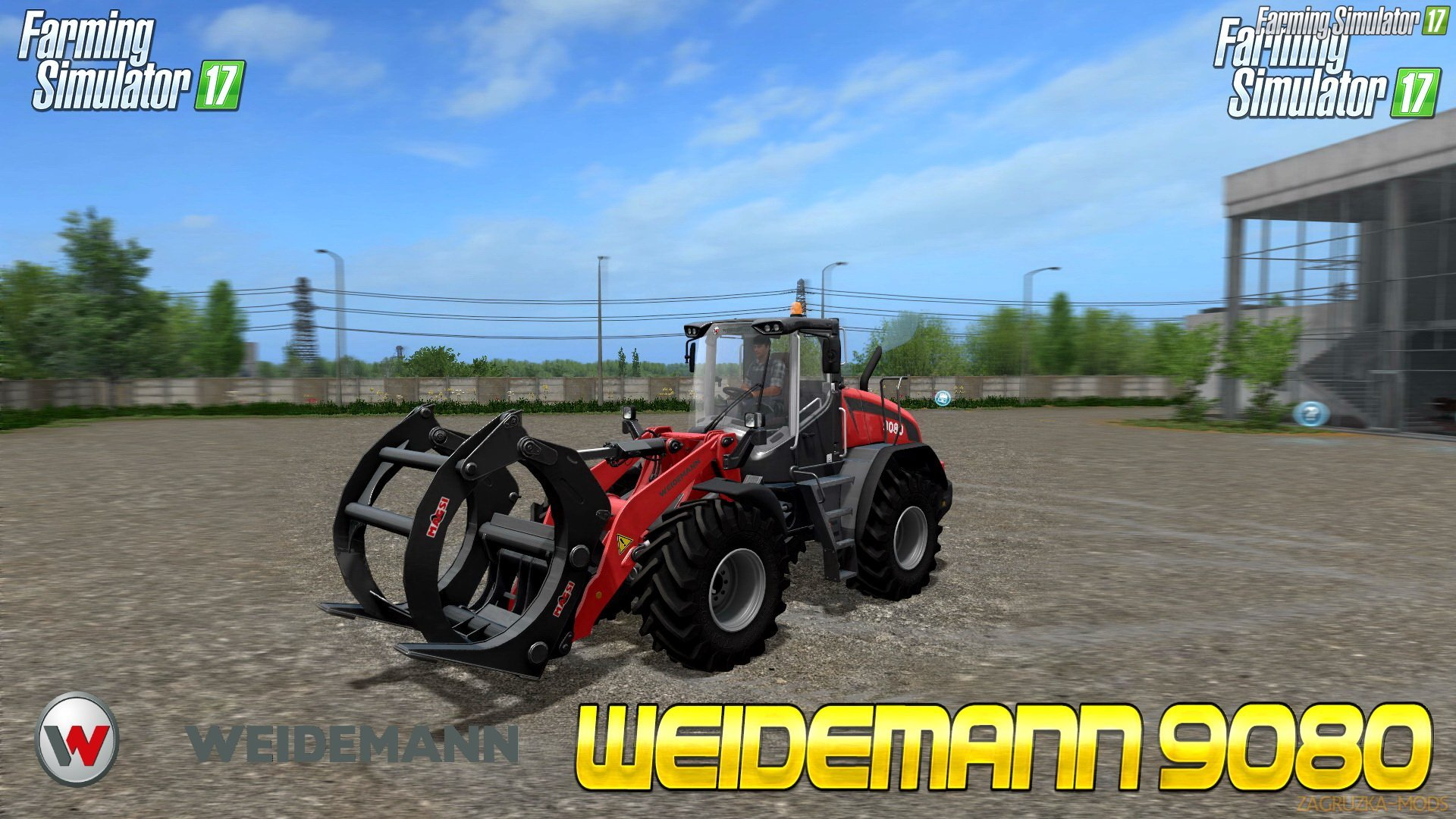 Weidemann 9080 v1.0 for FS 17