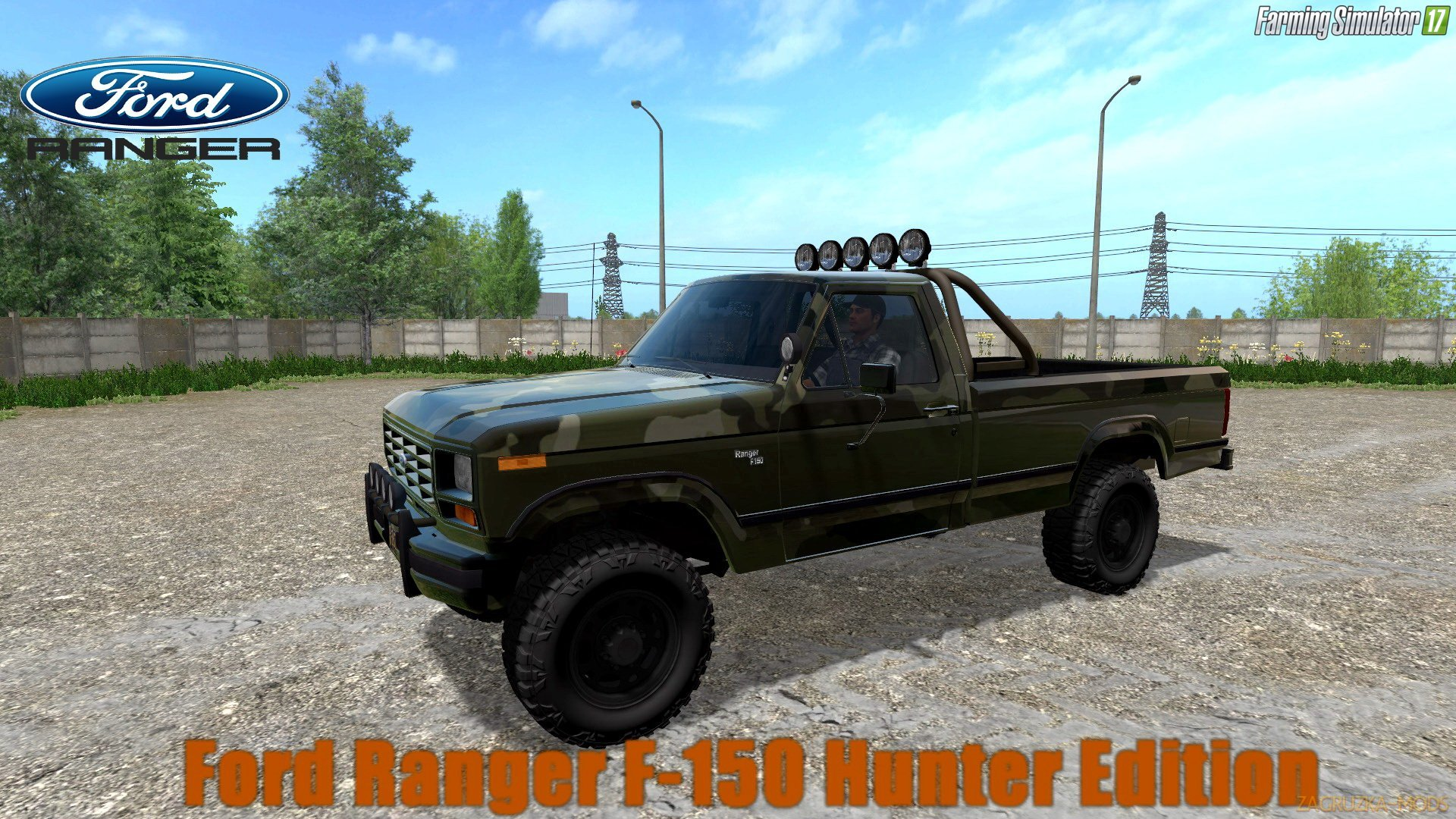 Ford Ranger F-150 Hunter Edition v1.0 for FS 17
