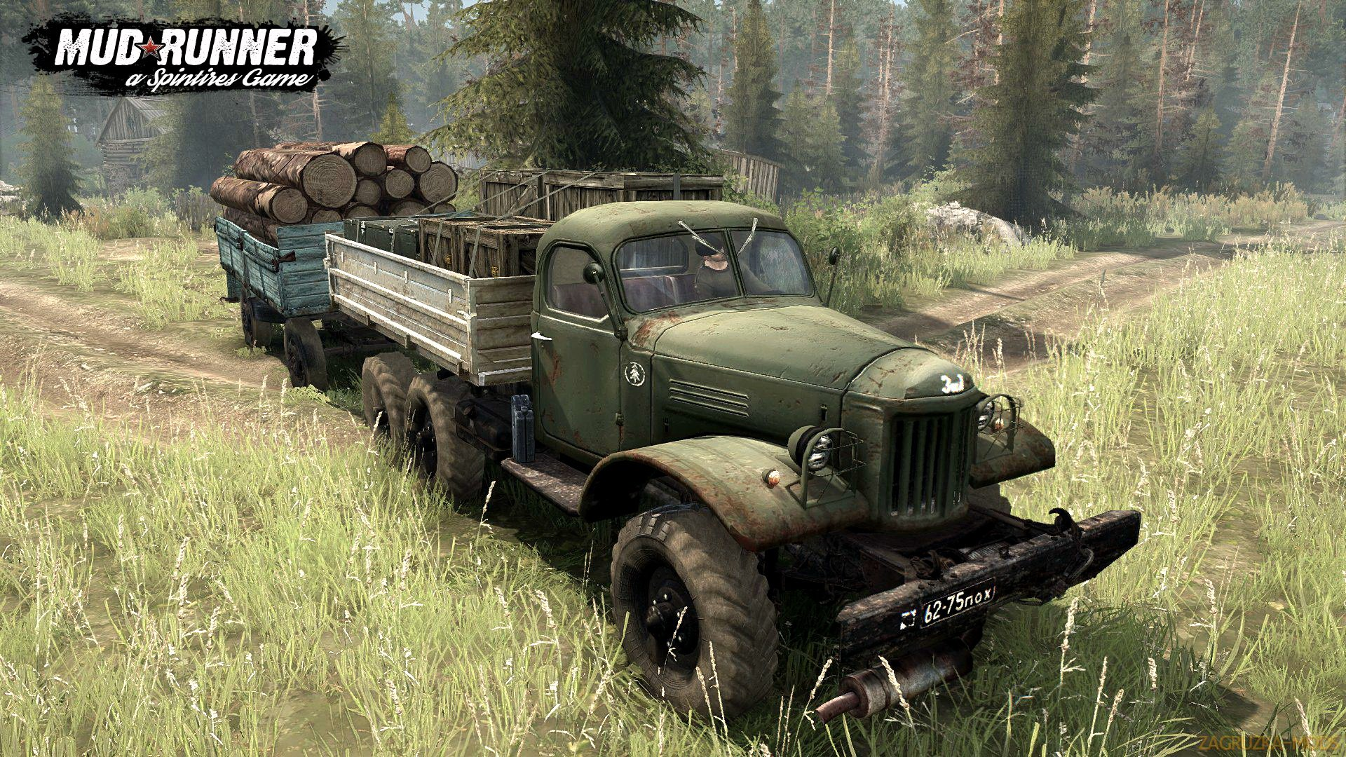 Zil-157 v4.0 (v21.05.18) for SpinTires: MudRunner