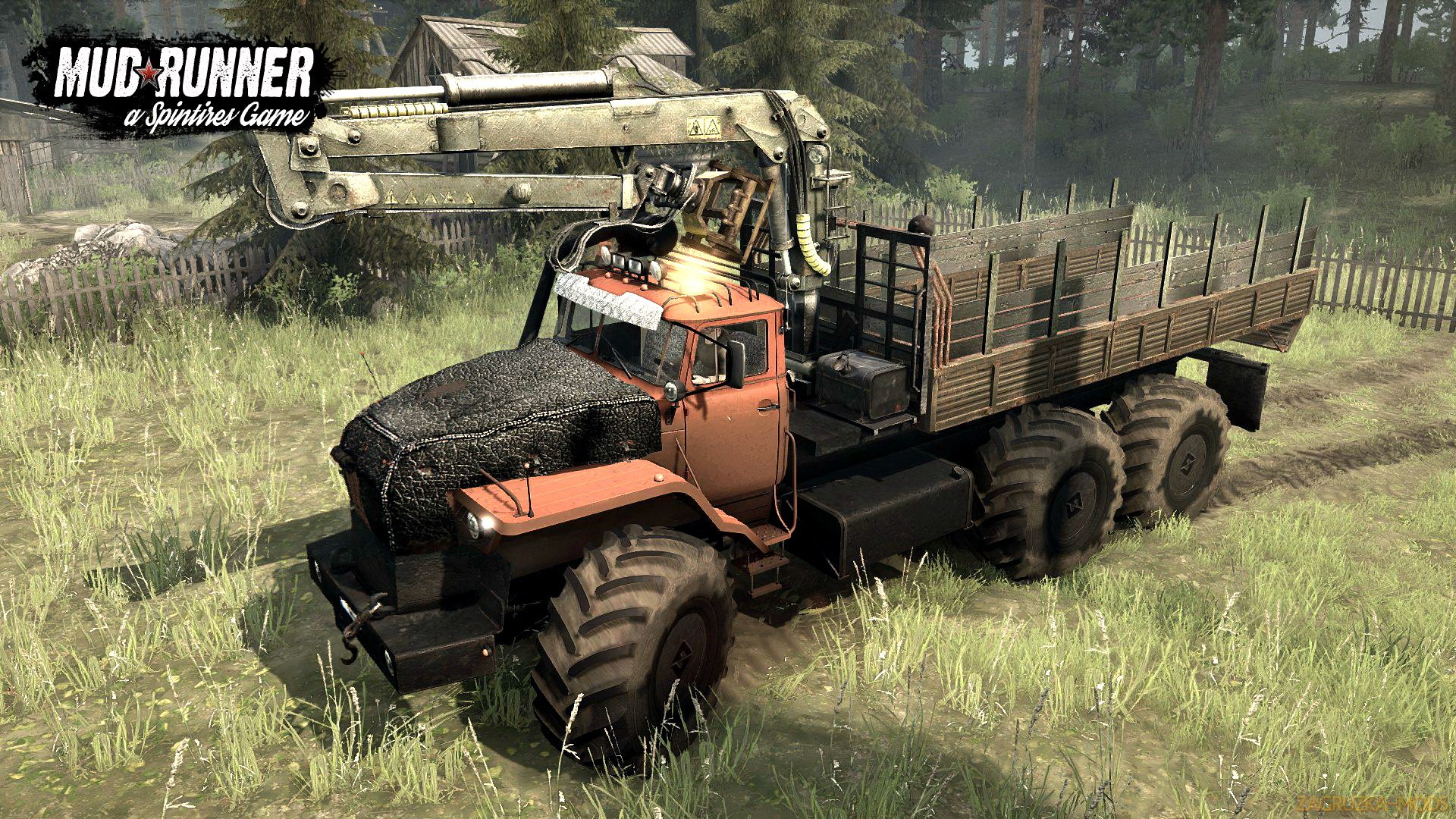 Urals Polar v1.0 (Updated) (v07.11.17) for Spin Tires: MudRunner