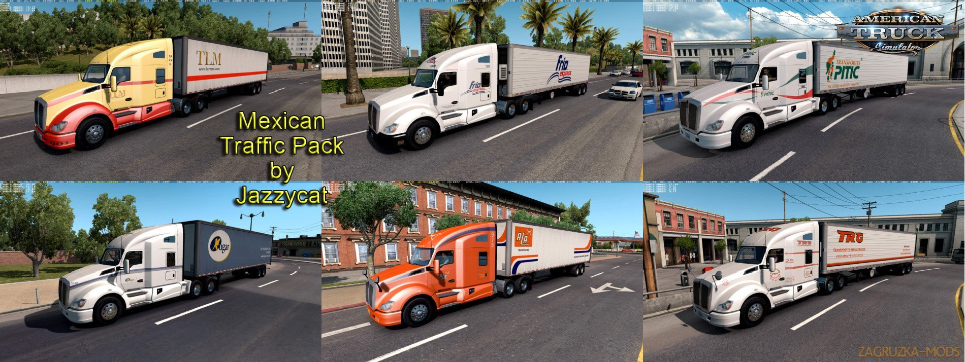 Mexican Traffic Pack v1.6 by Jazzycat