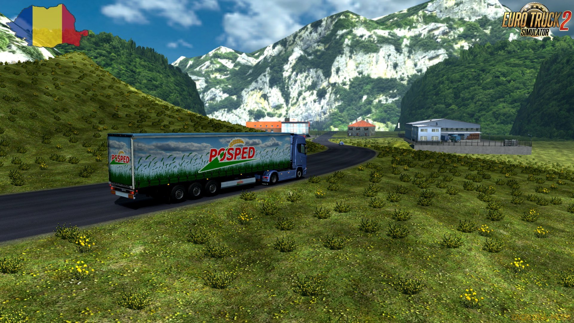 Transbucegi Road Map v1.0 by Traian (1.36.x) for ETS 2