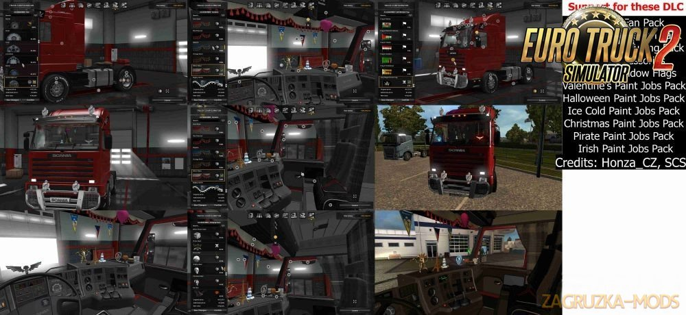 DLC cabin pack for Scania 143m[1.30]