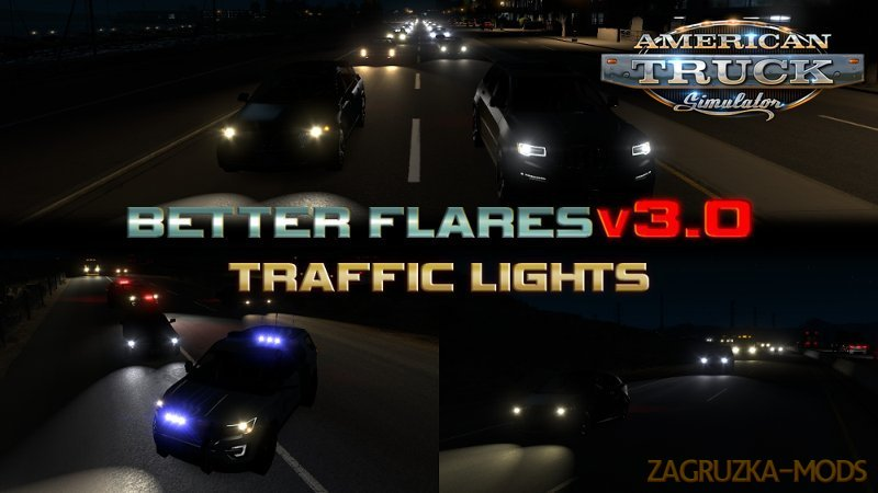 Better Flares Mod v3.1c (1.39.x) for ATS