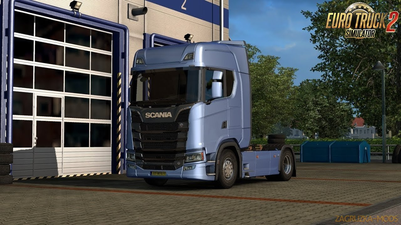 Scania new generation V8 stock sound for Ets2
