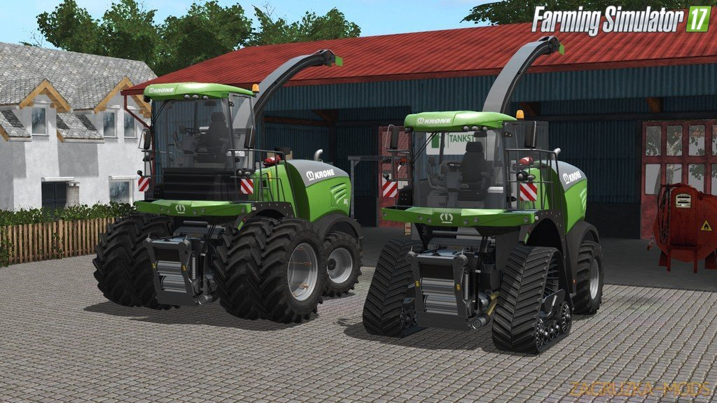 Combine Krone BiG X 480-630 for Fs17