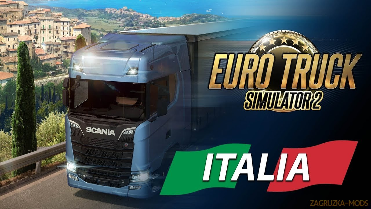 Promo trailer Italia DLC for Euro Truck Simulator 2