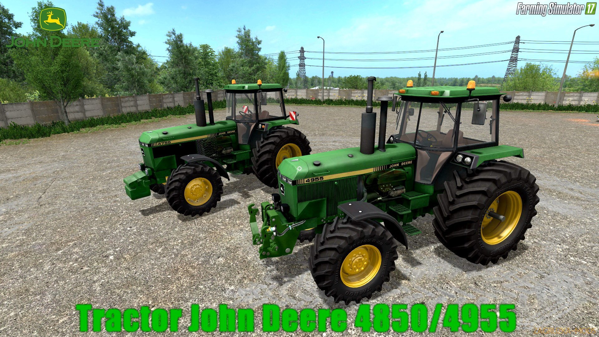 John Deere 4850/4955 v4.0.0.1 for FS 17