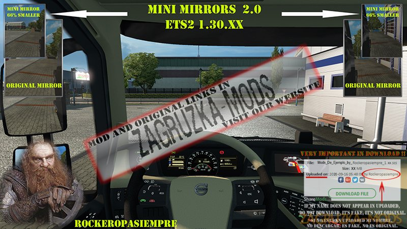 Mini mirrors 1.30.XX
