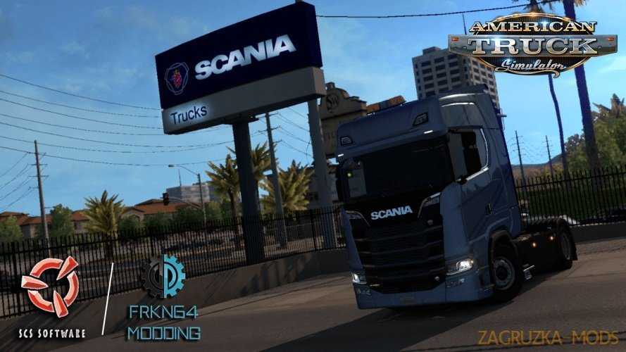 Scania Trucks for Ats v1.3 [1.29.x]