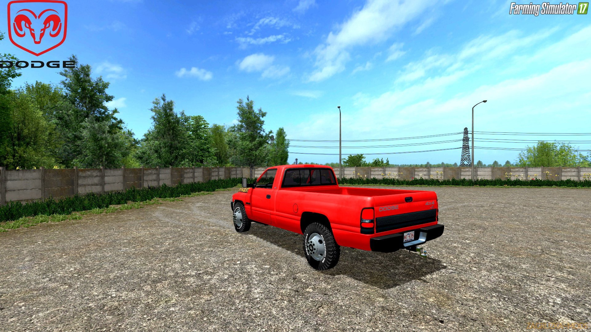 Dodge Ram 2500 Second Gen Cummins 1994 v1.0 for FS 17