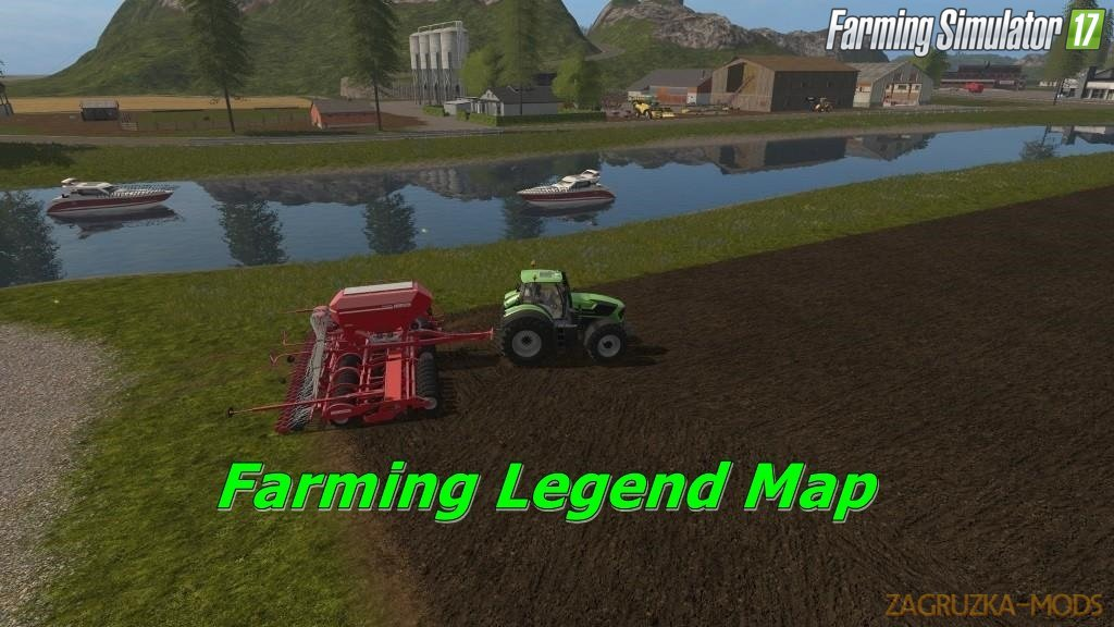 Farming Legend Map v1.0.0.4 for Fs17