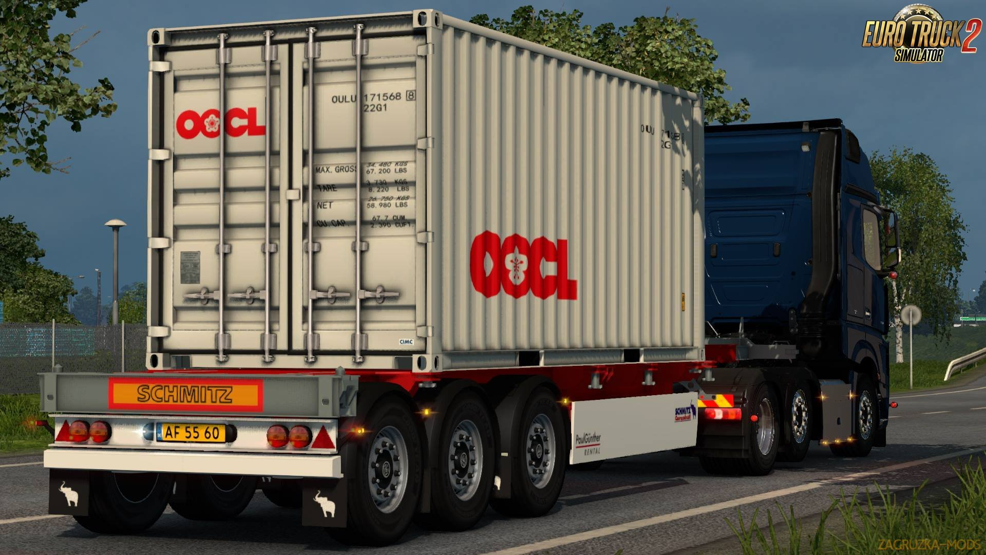 SCS Trailer Patch for Ets2 [1.30]
