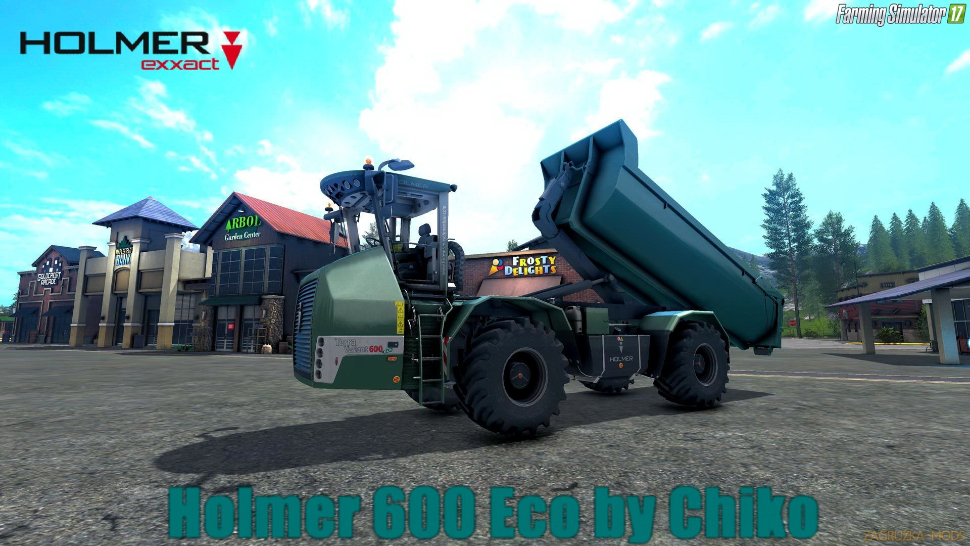 Holmer 600 Eco v1.0 by Chiko for FS 17