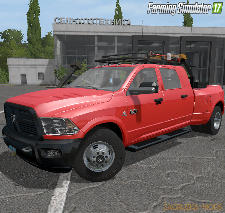 Dodge Ram 3500 Laramie Megacab v1.0 for FS 17