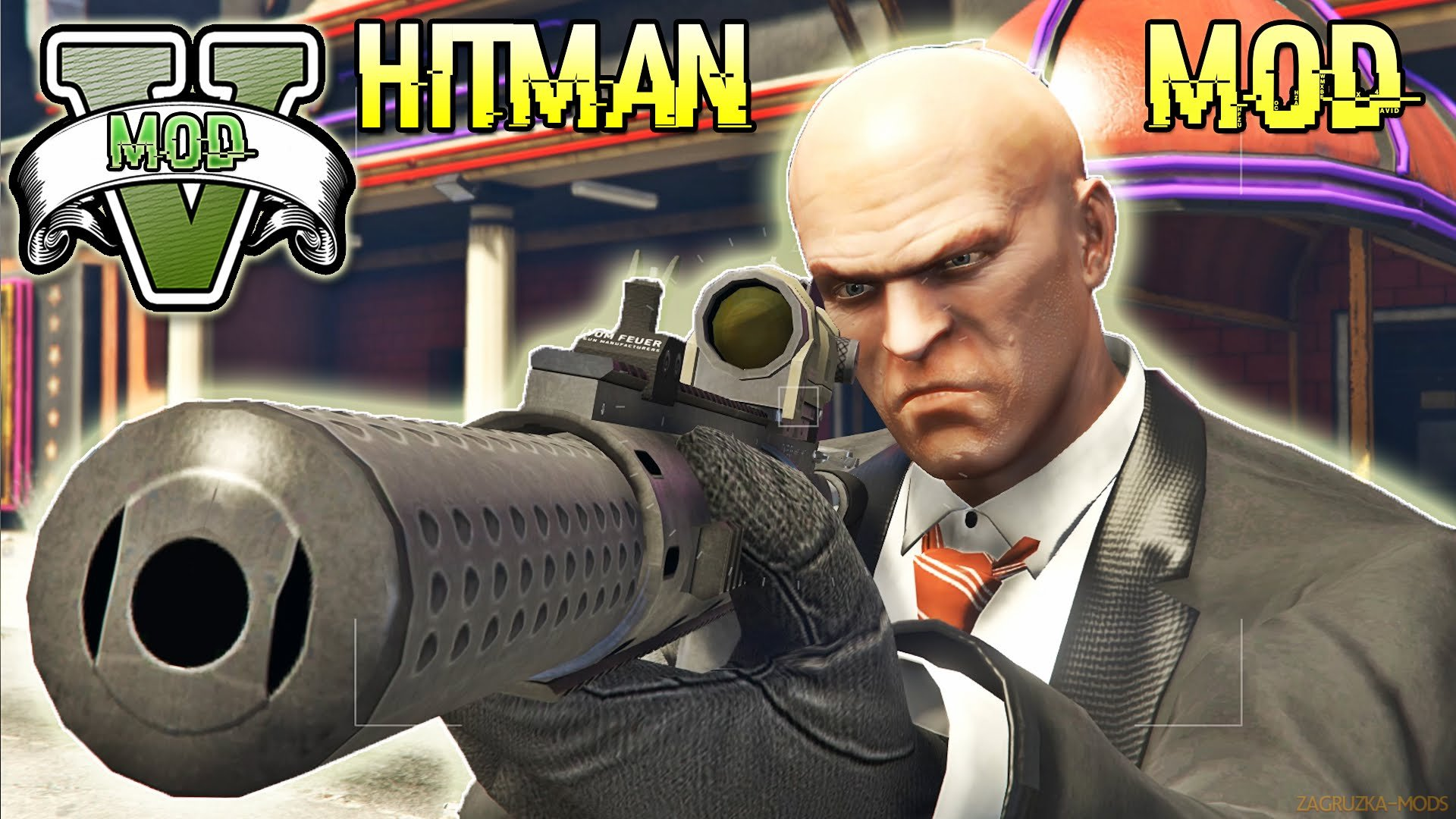 Hitman Mod (UPDATED) (RELOADED) v1.2.1 for GTA 5