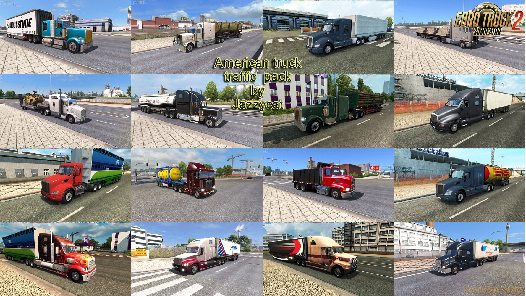 American Truck Traffic Pack v1.8 by Jazzycat